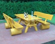 Rustikale Gartenmobel Aus Holz Naturstamm Moebel De