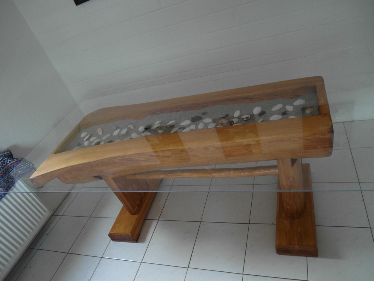 rustikaler halbstammtisch maritim. Black Bedroom Furniture Sets. Home Design Ideas