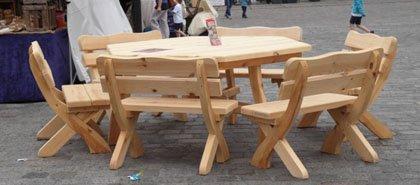 Rustikale Gartenmöbel Aus Holz Für Ihren Garten Naturstamm Moebelde