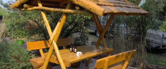 Rustikale Gartenmöbel Aus Holz Für Ihren Garten Naturstamm